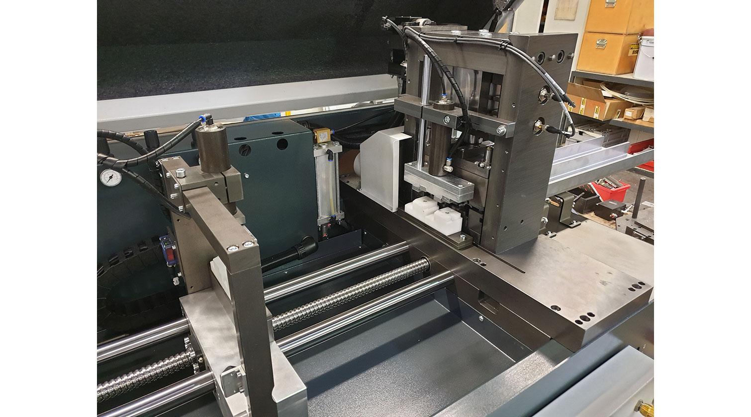 INT aluminum cutting punching centre Pressta Eisele Profilma 501 E ST punching die d