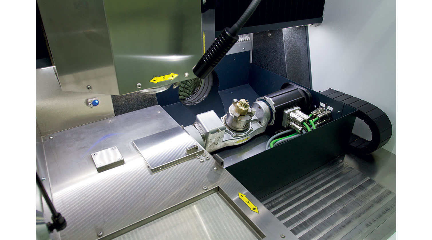 INT micro milling rapid prototyping CNC Imes Icore Premium 4030µ spindles