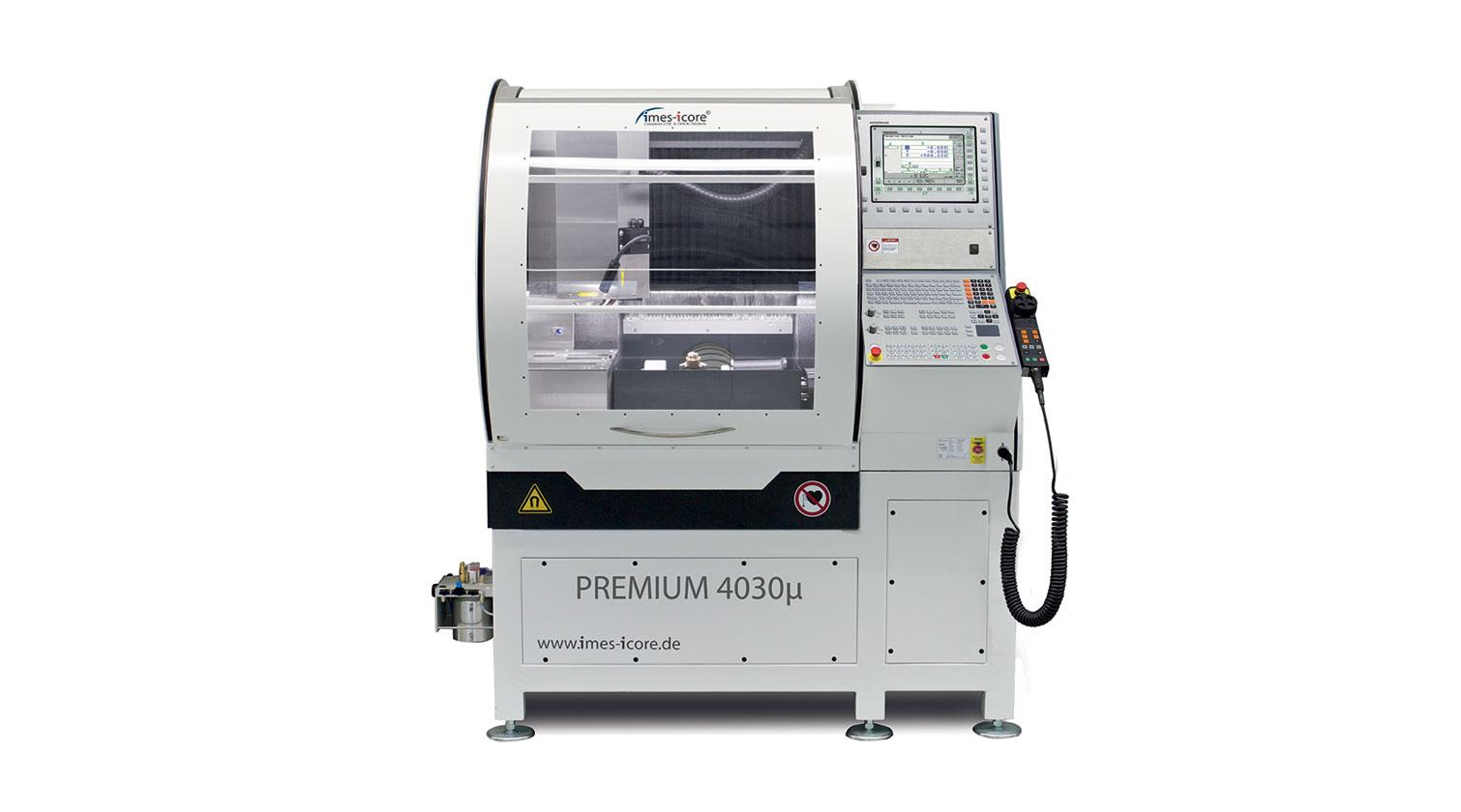 INT micro milling rapid prototyping CNC Imes Icore Premium 4030µ