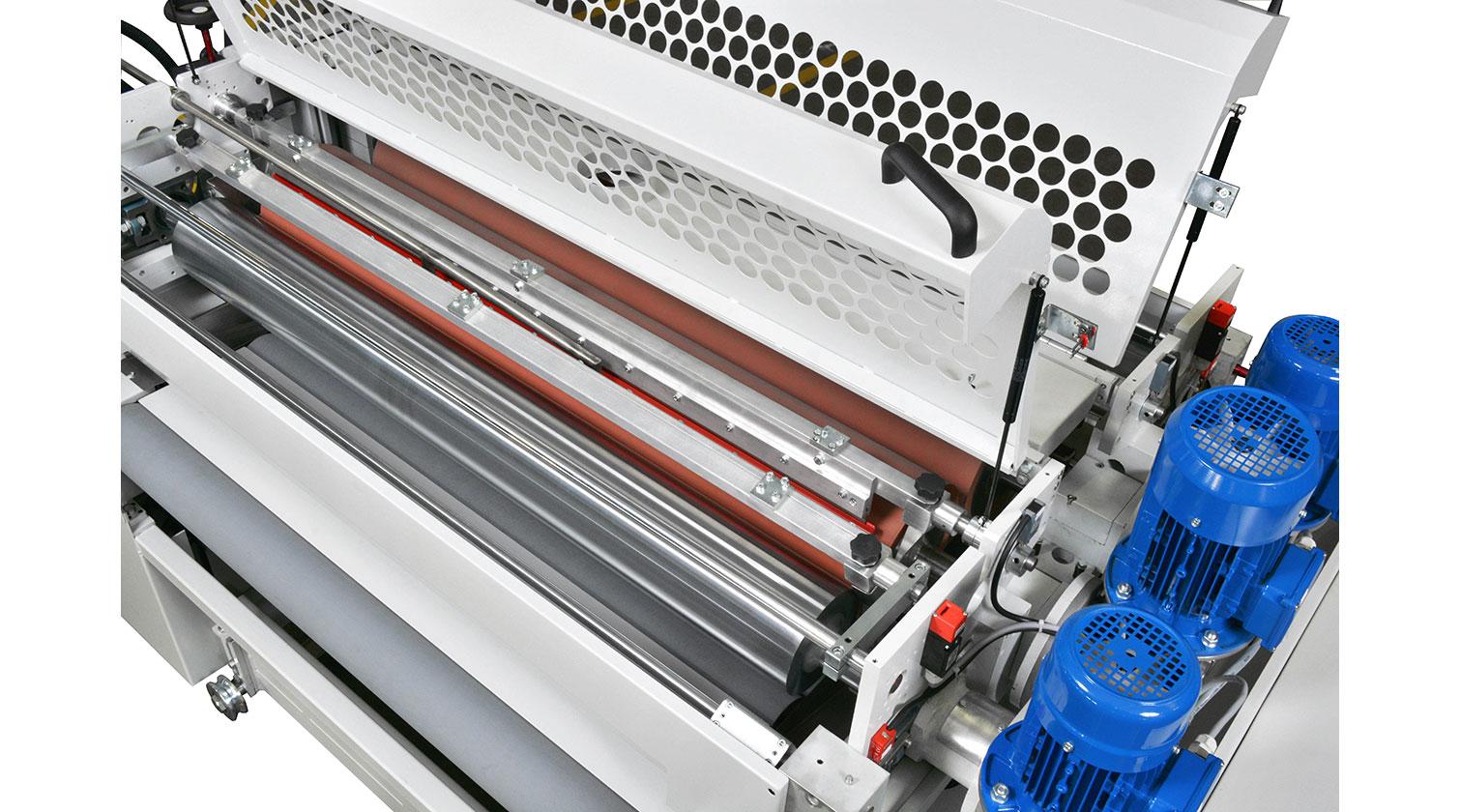 INT spandrel paint line Giardina roller coater detail 1
